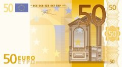 Front of 50 Euro Banknote